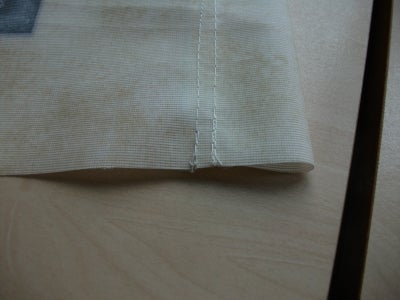 Sew the Top Edges