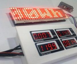 Power Peacefair PZEM 004 + ESP8266 & Arduino Nano