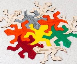 Escher Style Reptiles