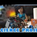 Lego Volcano Science Project With Vinegar & Baking Soda