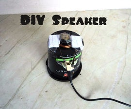 Make Your Own Speakers From Scrap