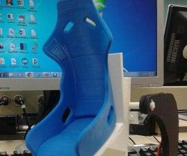 1/6 Model Motion Simulation Chair /w Microsoft Flight Sim X