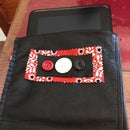Lined Leather Kindle Case