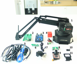 An Affordable Vision Solution With Robot Arm Based on Arduino