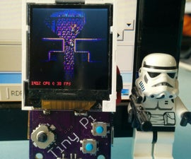 TinyPi - the Worlds Smallest Raspberry Pi Based Gaming Device