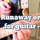 Runaway Organ Solo for Guitar - Lesson
