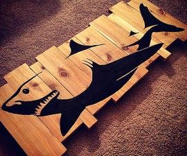 Custom Wood Wall Piece