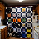 7 Year Soccer Jersey Quilt