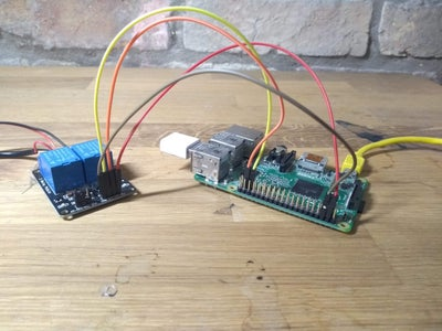 Connecting Raspberry Pi to Relay