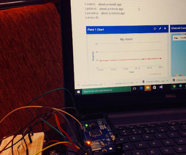 Distant Weather Monitoring Using Arduino and ESP8266