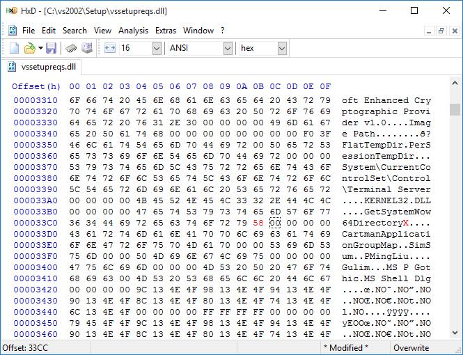 Picture of Fix the Visual Studio .NET Setup