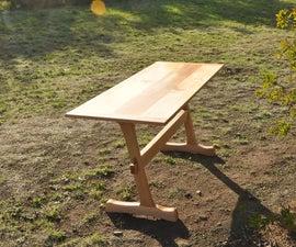 Flat Pack Trestle Table