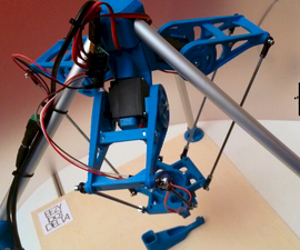 EEZYbotDELTA 3Dprinted Robot