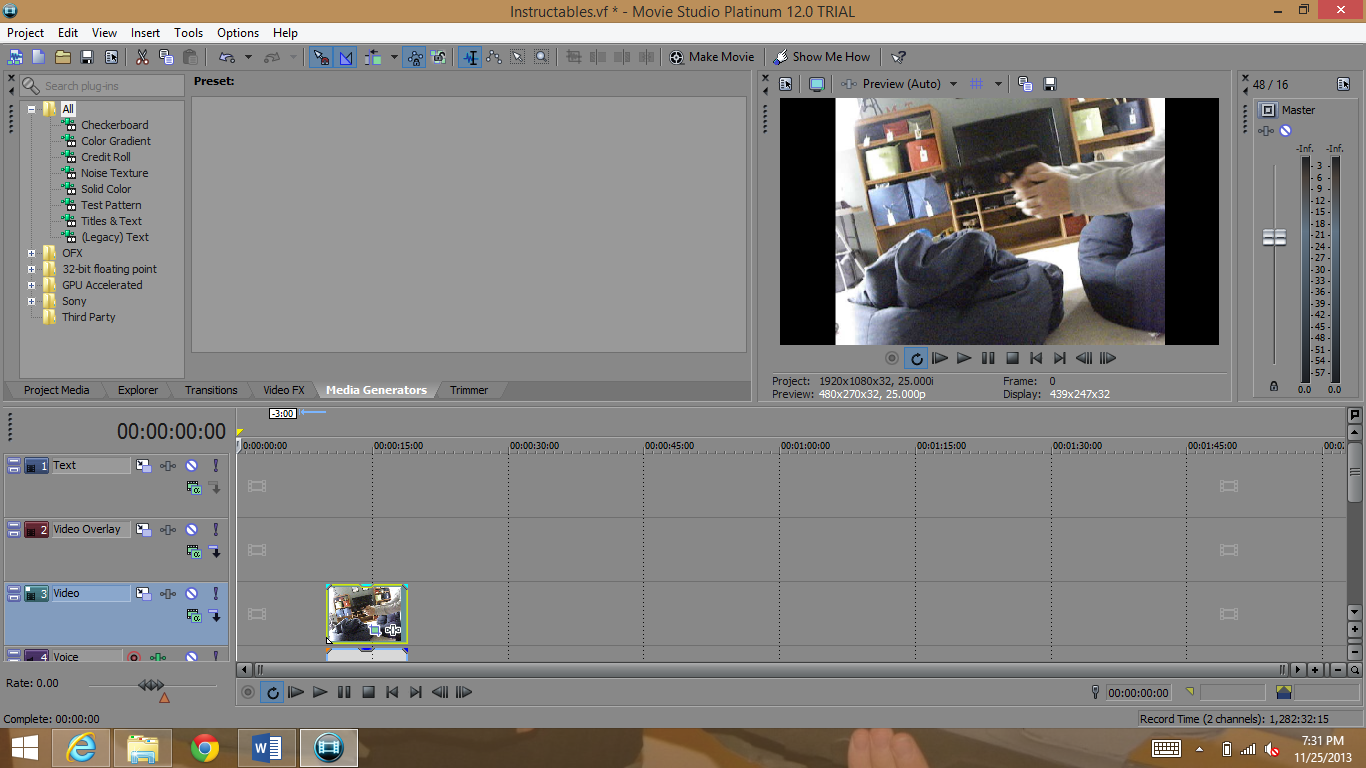 Picture of Editing (cutting)