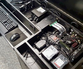 Building A Computer Desk / DIY Desk PC