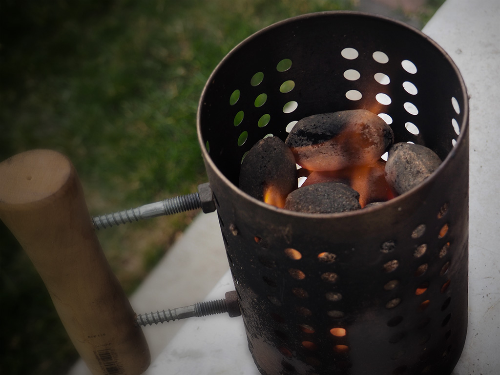 Picture of Low Budget BBQ Chimney Starter, IKEA Hack