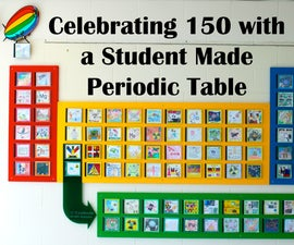 A Student Made Periodic Table