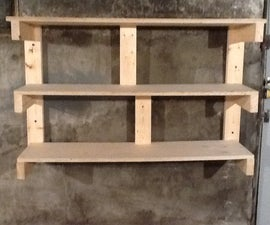 Workshop Custom Wall Shelves