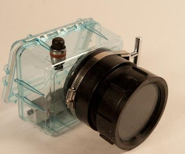 Under Water Housing for a SLR or DSLR Camera