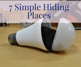 7 Hiding Places in Your House