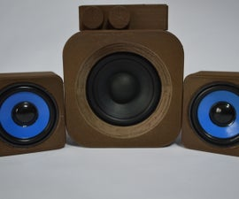 3D Printed PC Speakers