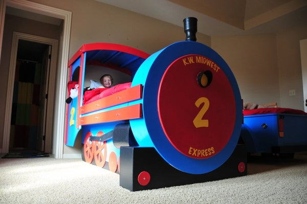 Building a Train Bed