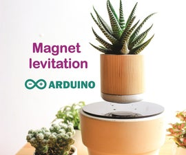 Arduino Air Bonsai Levitation
