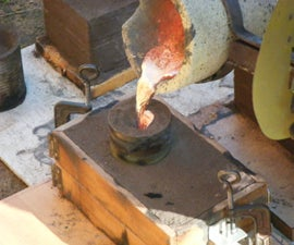 Brass Casting With Sand Cores