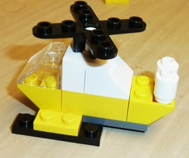 Constructing a Lego Helicopter