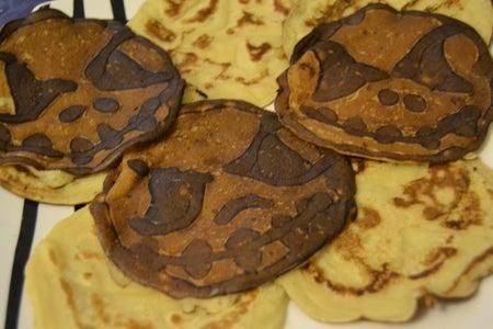 Jack Skelleton Halloween Pancakes
