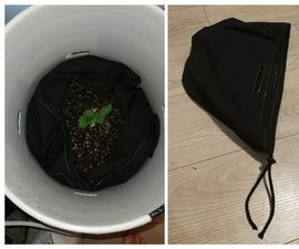 Plant Bag for Lining Grow Buckets for $5