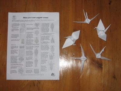 Fold an Origami Crane