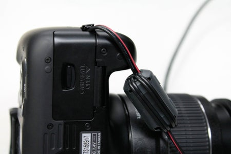 Setting Up Camera Before Mounting