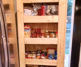 How to: Build a rolling pantry