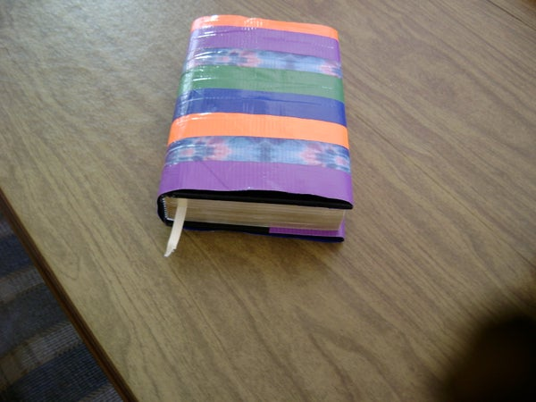 Water and Stain Resistant Book Cover for Under Five Dollars