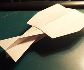 How To Make The StratoVulcan Paper Airplane