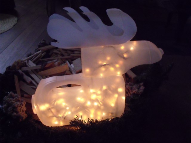 Picture of Rudolph, the Lighted Bottle Reindeer