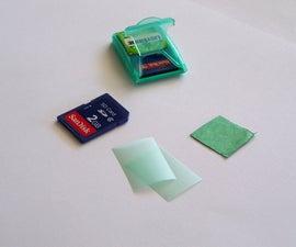 Listerine SD Card Holder