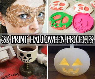 3D Print Halloween Projects