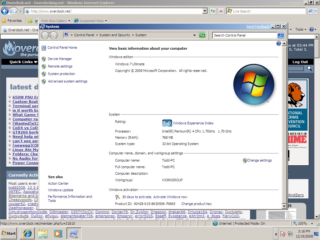 Picture of How to Install Windows 7 or Vista on Your Pc If You Only Have a CD-RW Drive and Bios Not Boot From USB