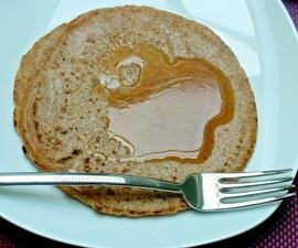 Spelt vanilla pancakes
