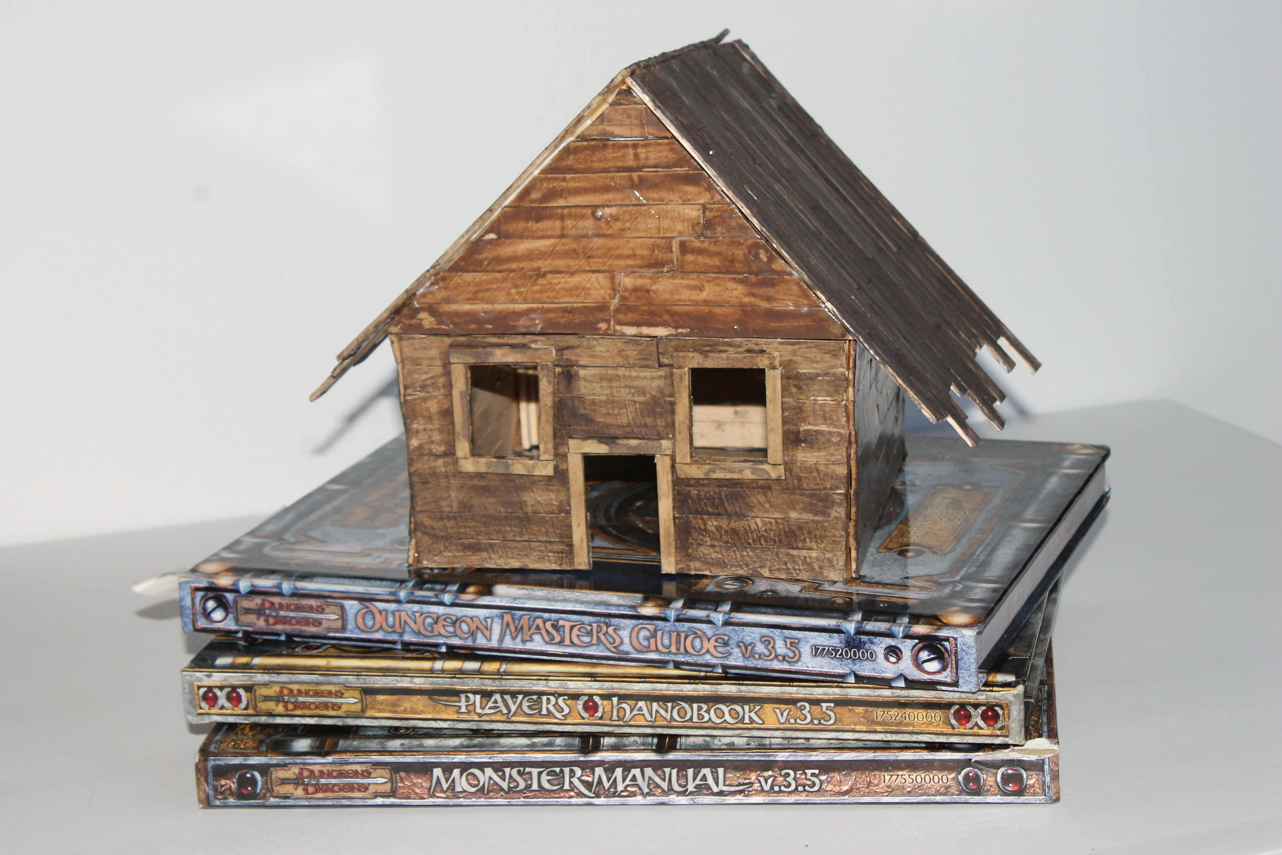 Picture of Miniature Popsicle Stick House