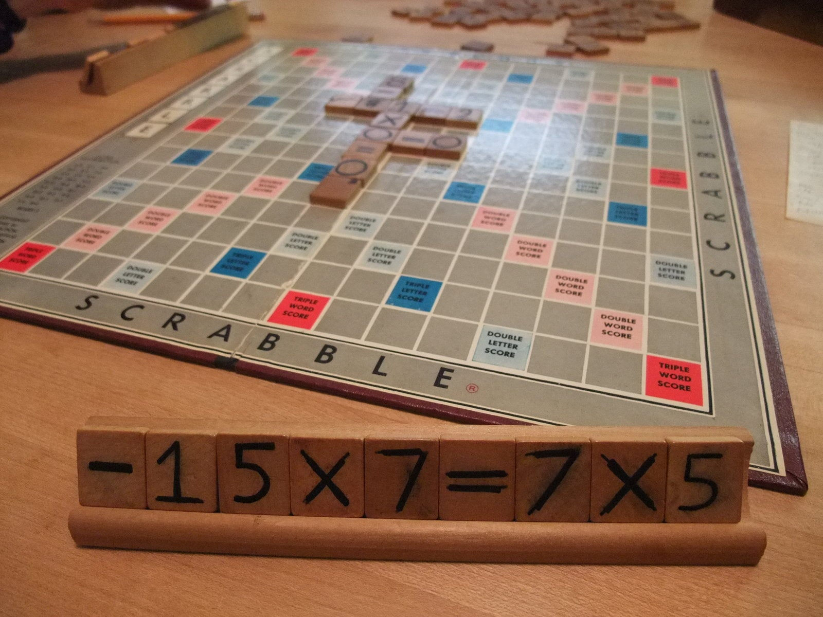 Number Scrabble the Game aka Math Scrabble 4 Steps