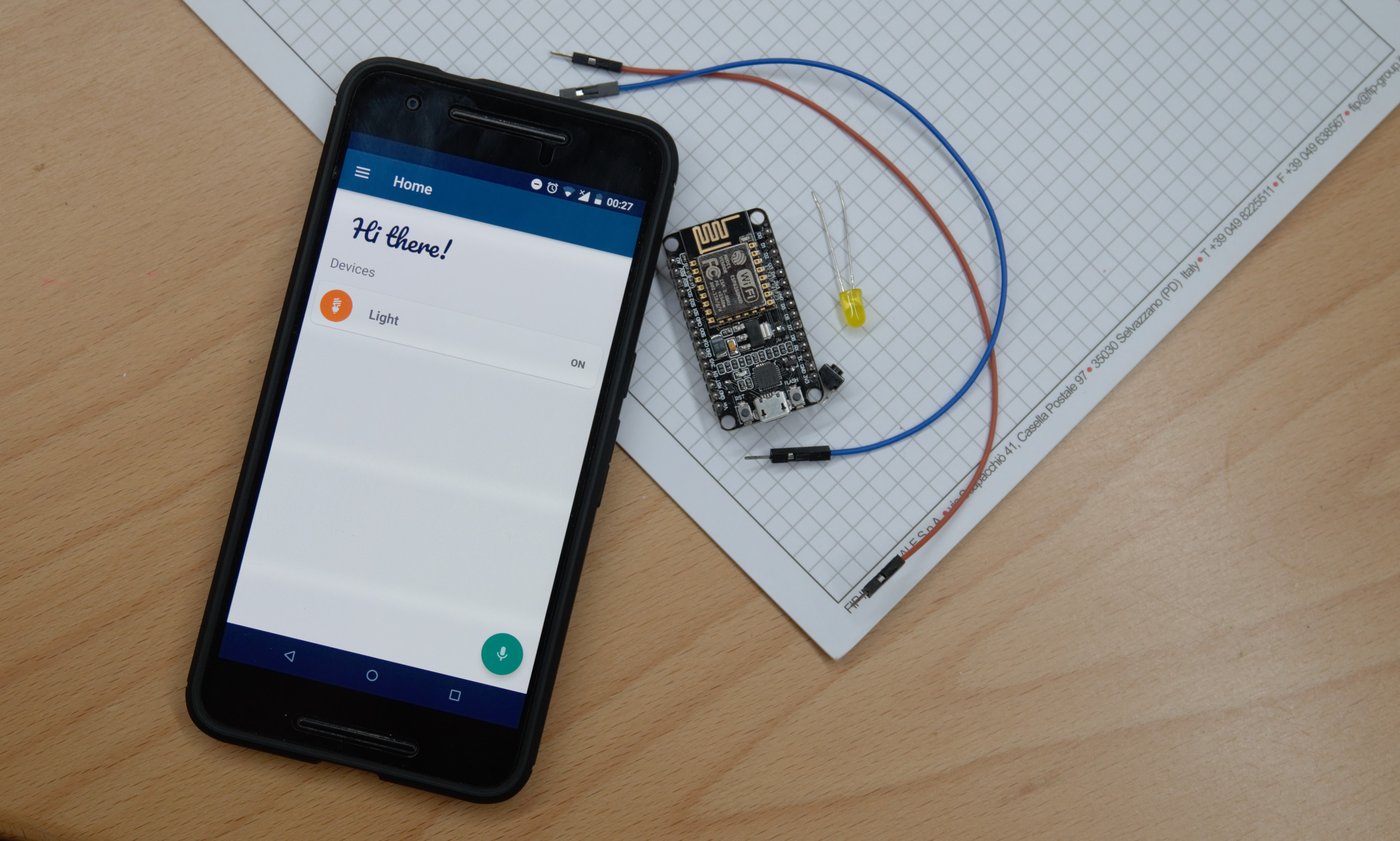 Picture of Home Automation With Android and Arduino: Open the Gate When You Get Home
