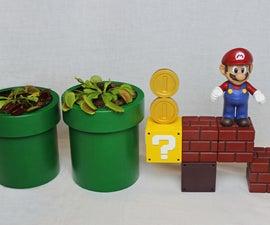 Self-Watering Mario Planters