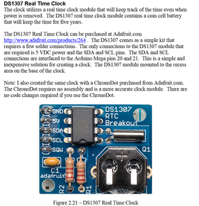 Components - DS1307 Real Time Clock