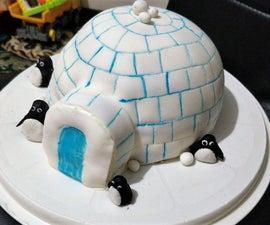 Hotel Artic Igloo Eggless Chocolate Cake