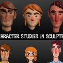 Creating Character Busts in Sculptris