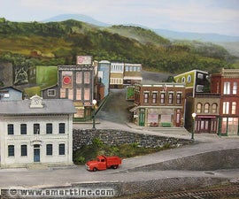 Roads for your Model Railroad Layout or Diorama, The SMARTT Way