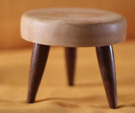 Miniature candle stool